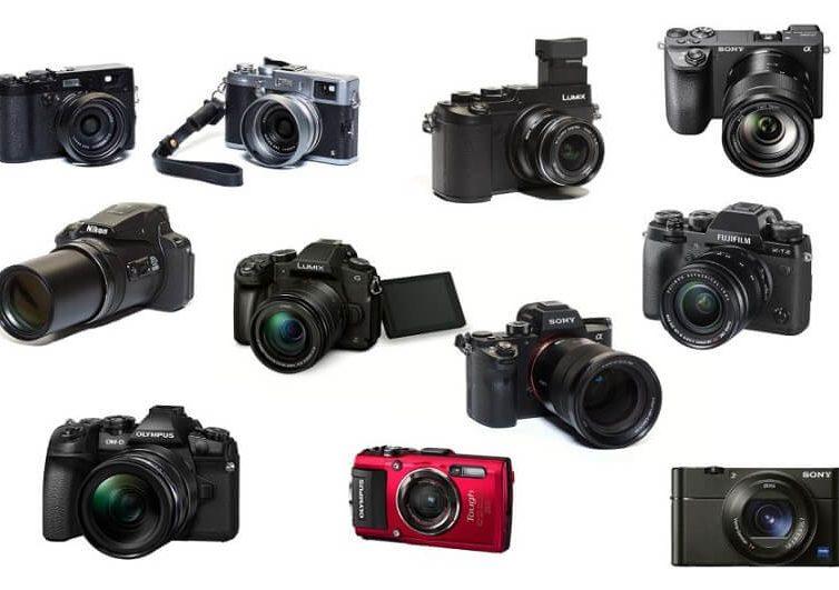 Những dòng máy ảnh hiện nay