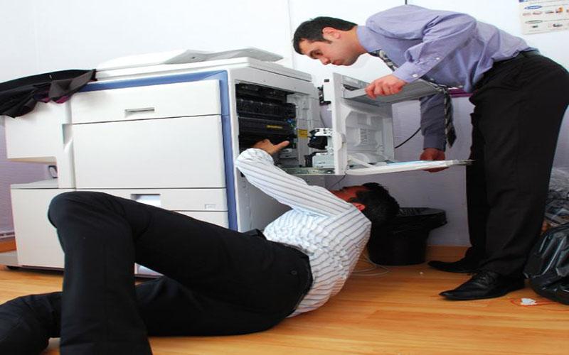 Khi thuê máy photocopy được bảo dưỡng định kỳ hàng tháng