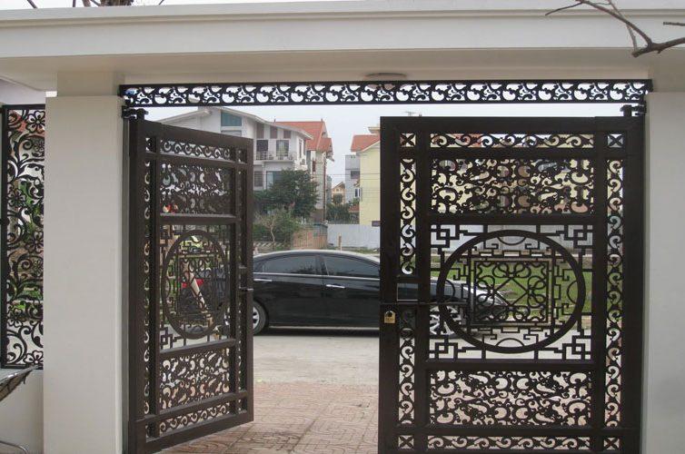 Kiêng kỵ khi xây cổng nhà  bạn nên biết đến